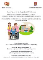 Invito a progettazione partecipata di un nuovo Centro di Servizi per la salute a Villanova