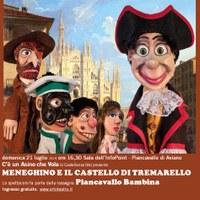 Spettacolo teatrale MENEGHINO E IL CASTELLO DI TREMARELLO